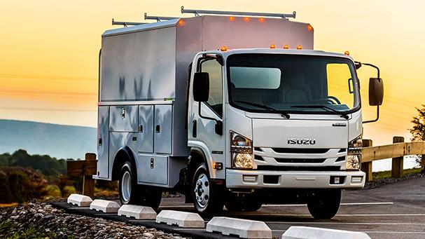 2021 Isuzu N-Series Gas