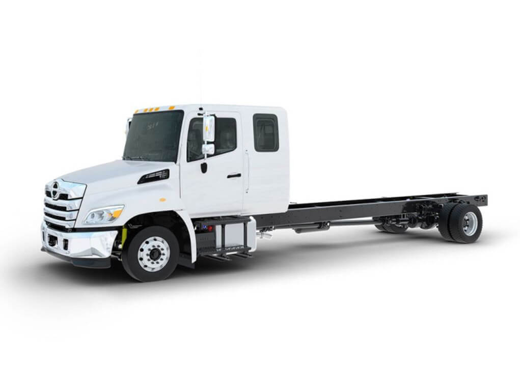 2022 Hino Trucks L6 Crew Cab