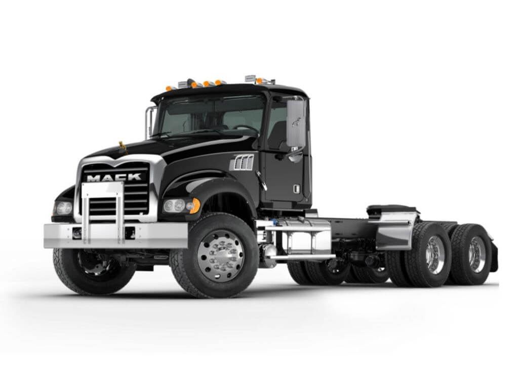 Mack Truck Granite Rolloff